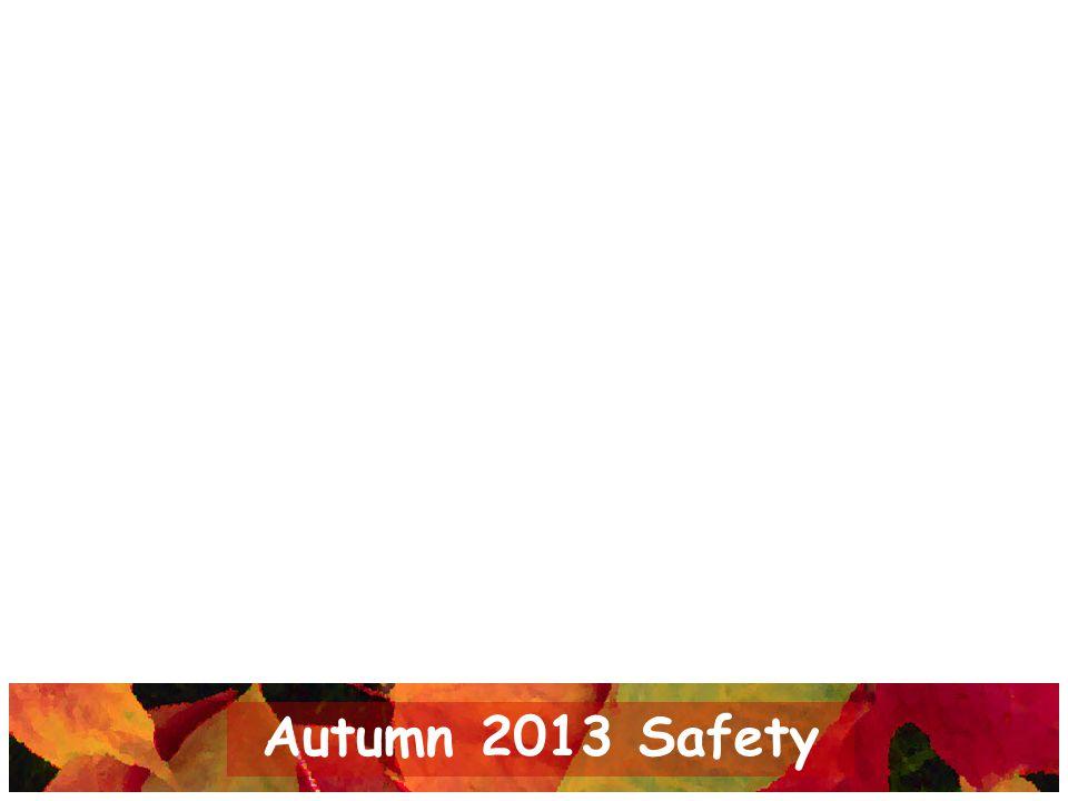 Autumn 2013 Safety