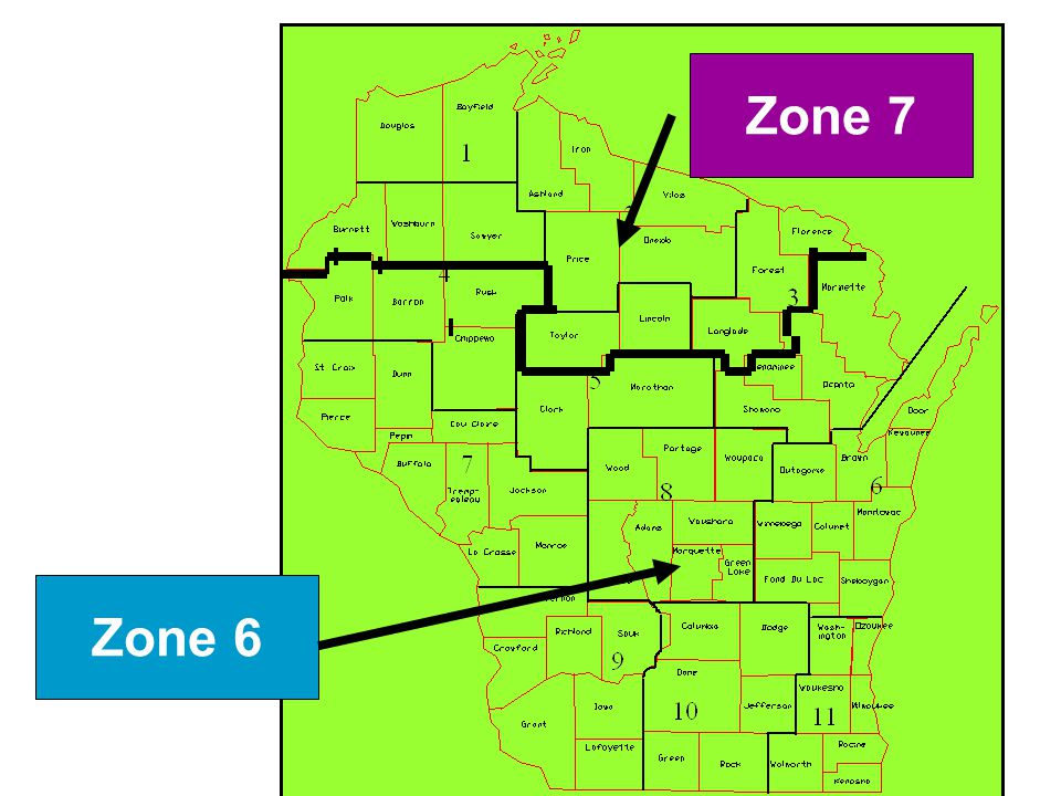 ICC Codes w/WI Amendments21 Zone 6 Zone 7