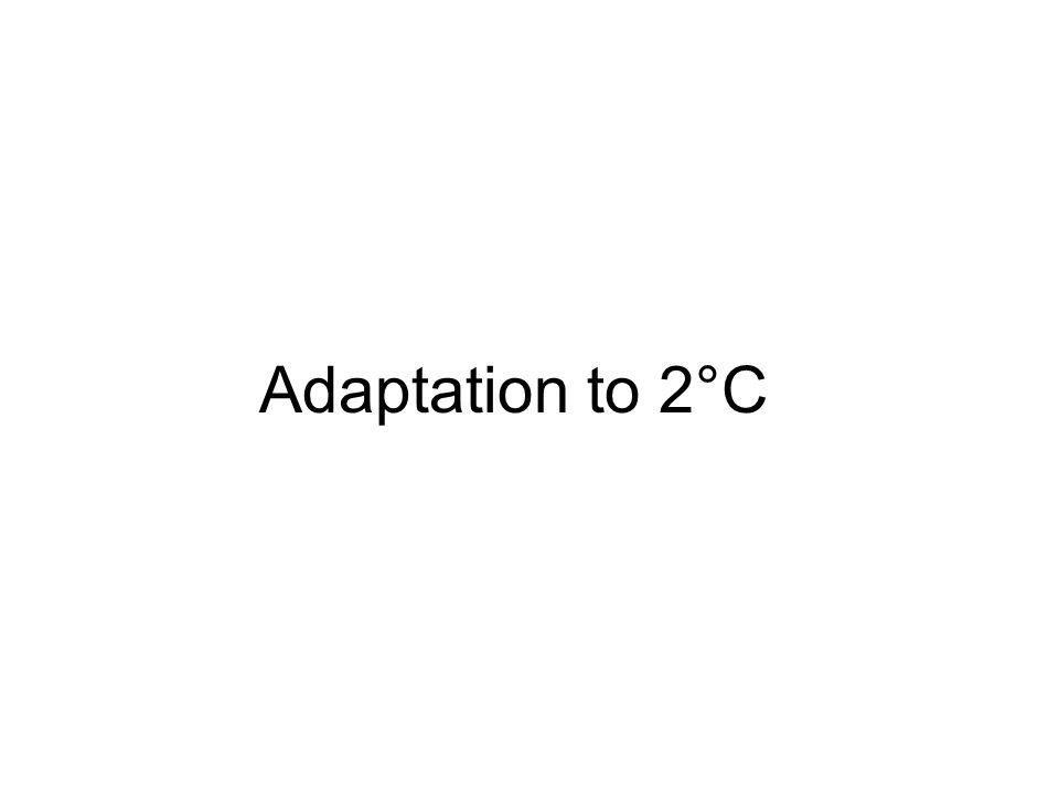 Adaptation to 2°C