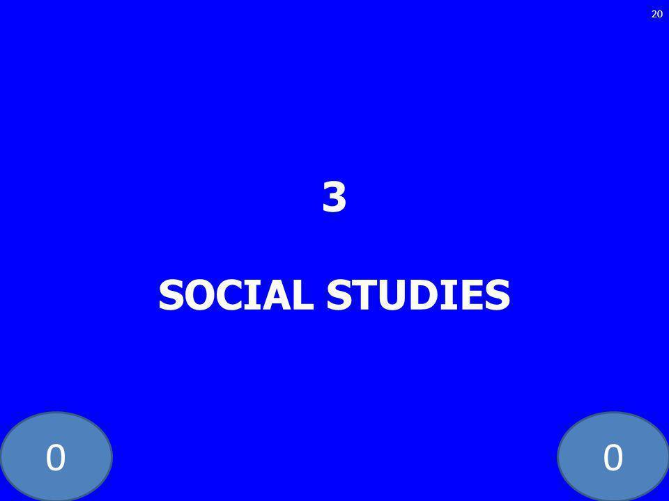 00 3 SOCIAL STUDIES 20