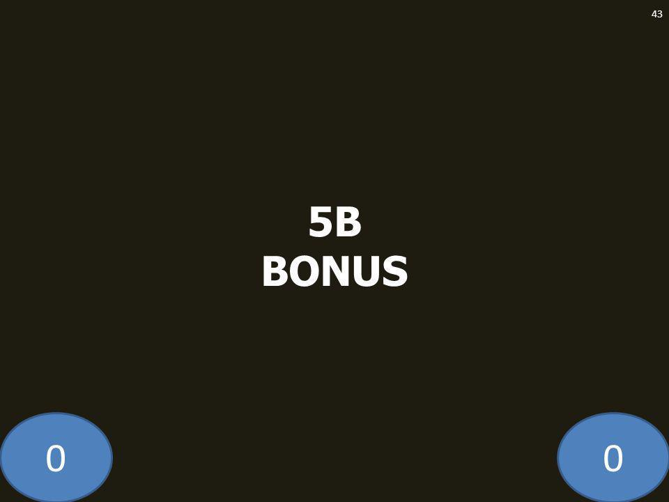 00 5B BONUS 43