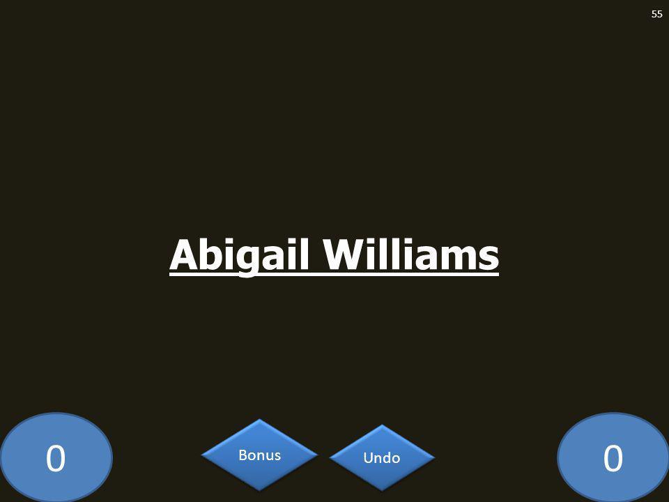 00 Abigail Williams 55 Undo Bonus