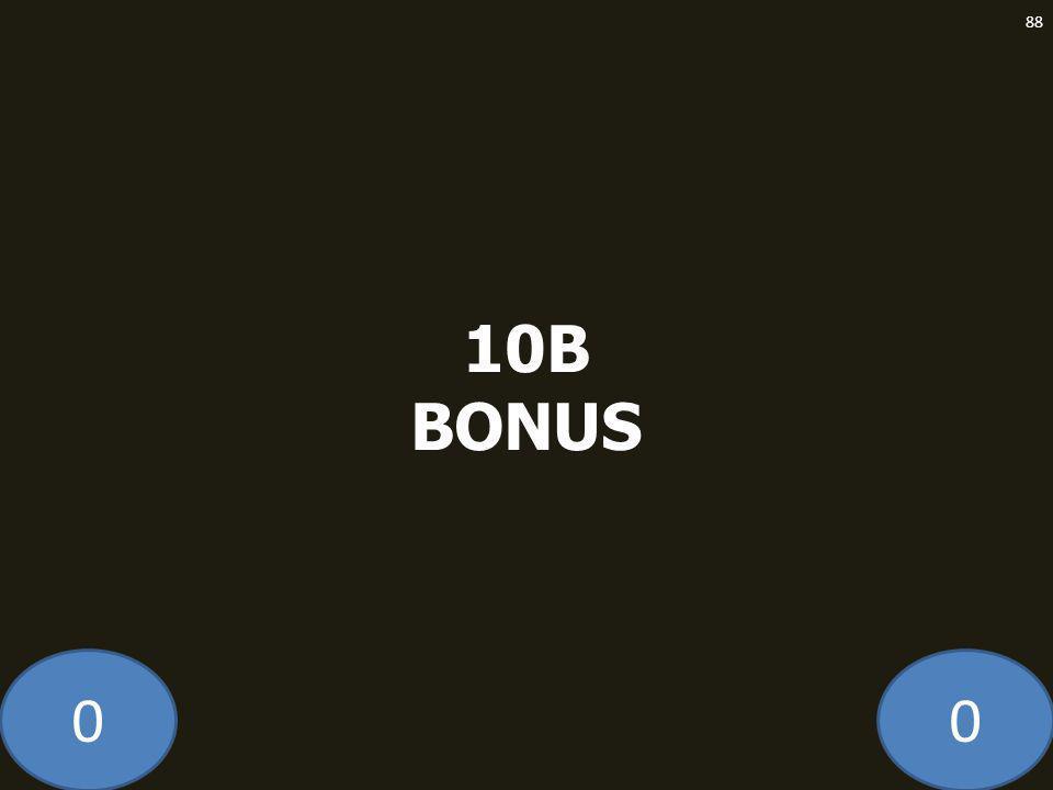 00 10B BONUS 88
