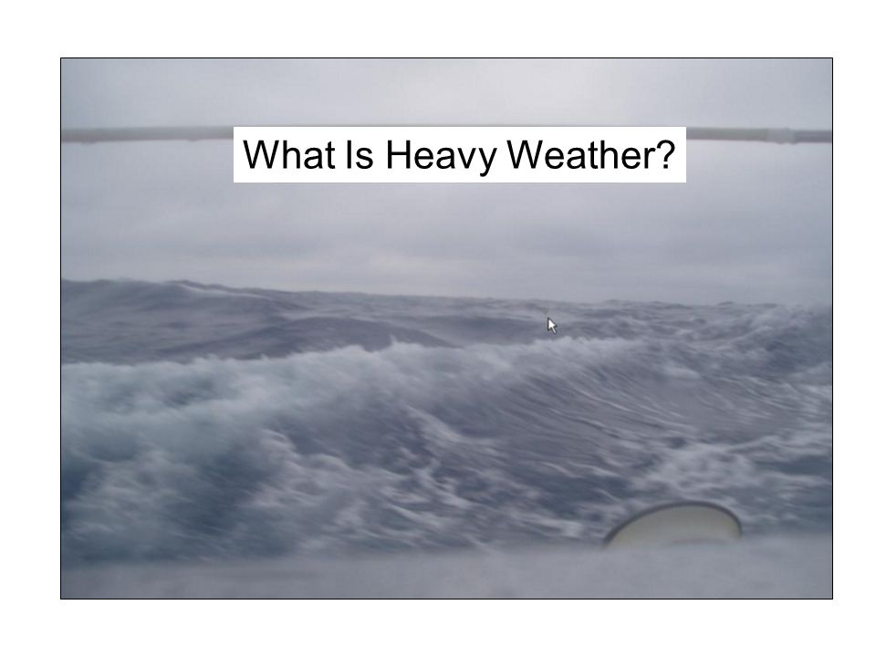 What Is Heavy Weather