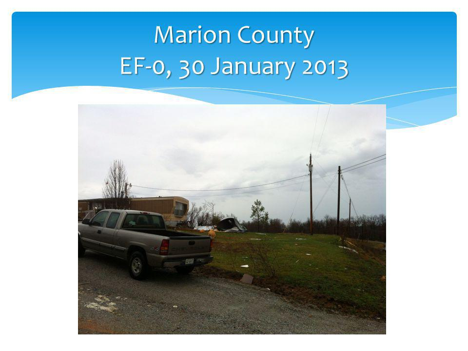 Marion County EF-0, 30 January 2013
