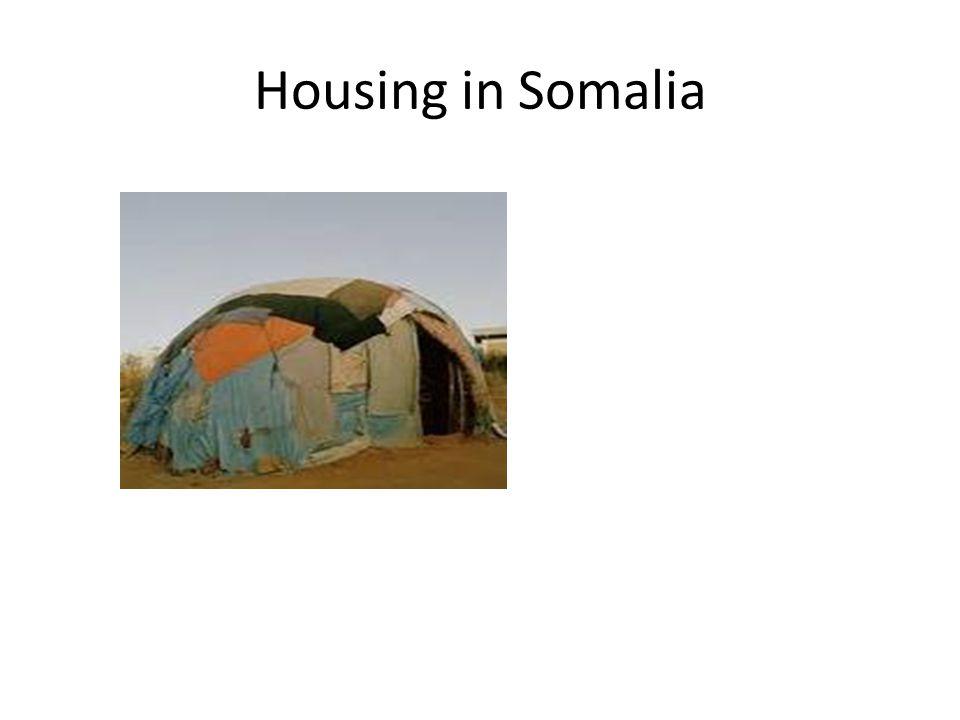 Housing in Somalia