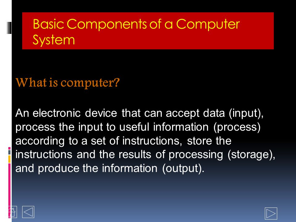 Introduction to Computers Computer hardware Input, Output & peripheral devices History of computers