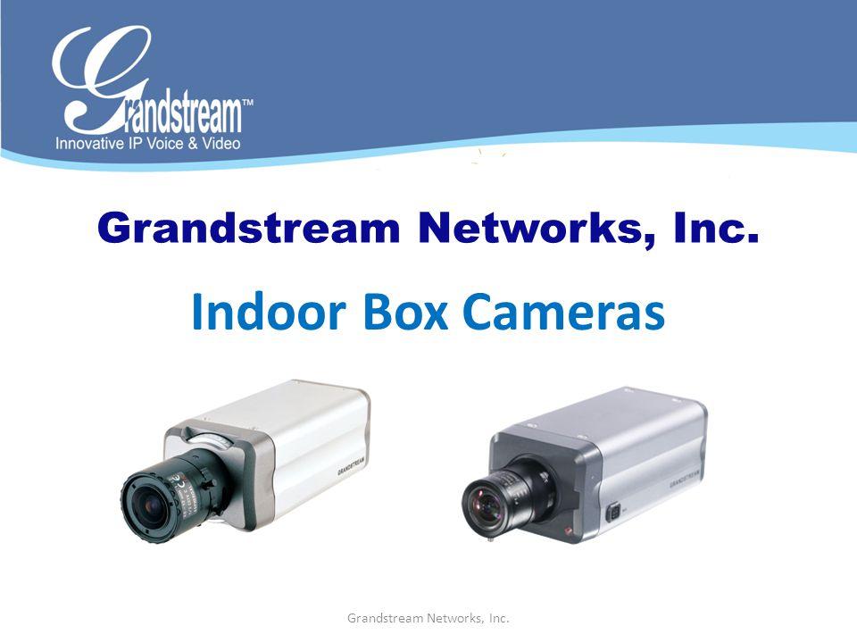 Indoor Box Cameras
