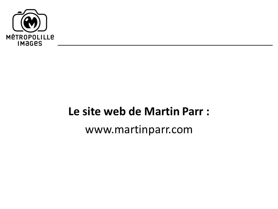 Le site web de Martin Parr : www.martinparr.com