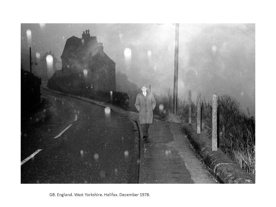 GB. England. West Yorkshire. Halifax. December 1978.