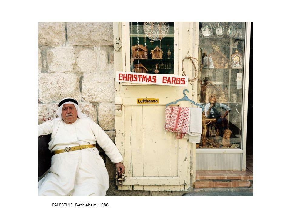 PALESTINE. Bethlehem. 1986.