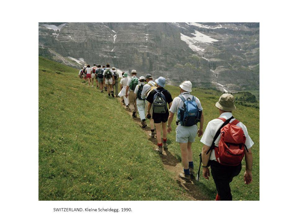 SWITZERLAND. Kleine Scheidegg. 1990.