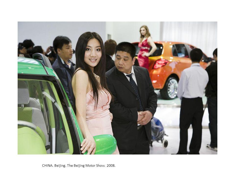 CHINA. Beijing. The Beijing Motor Show. 2008.