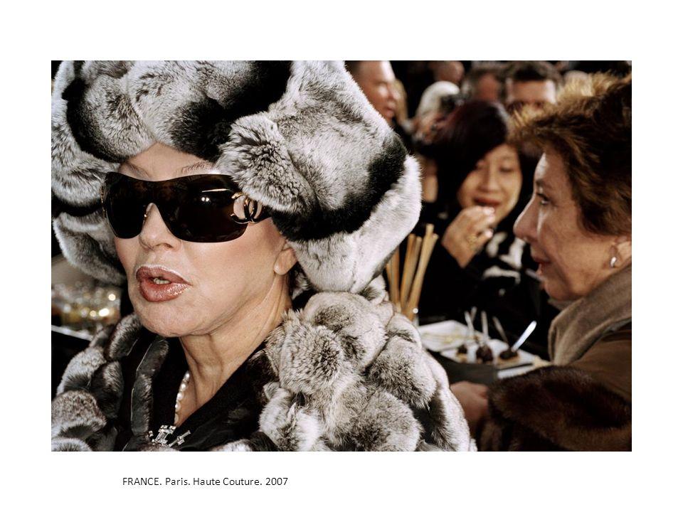 FRANCE. Paris. Haute Couture. 2007