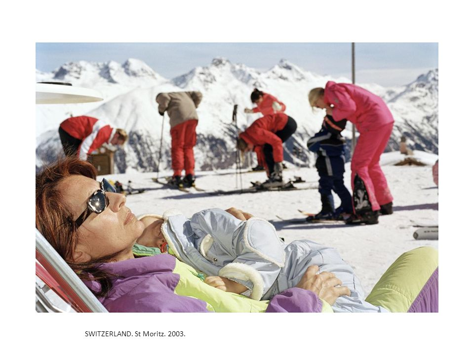 SWITZERLAND. St Moritz. 2003.