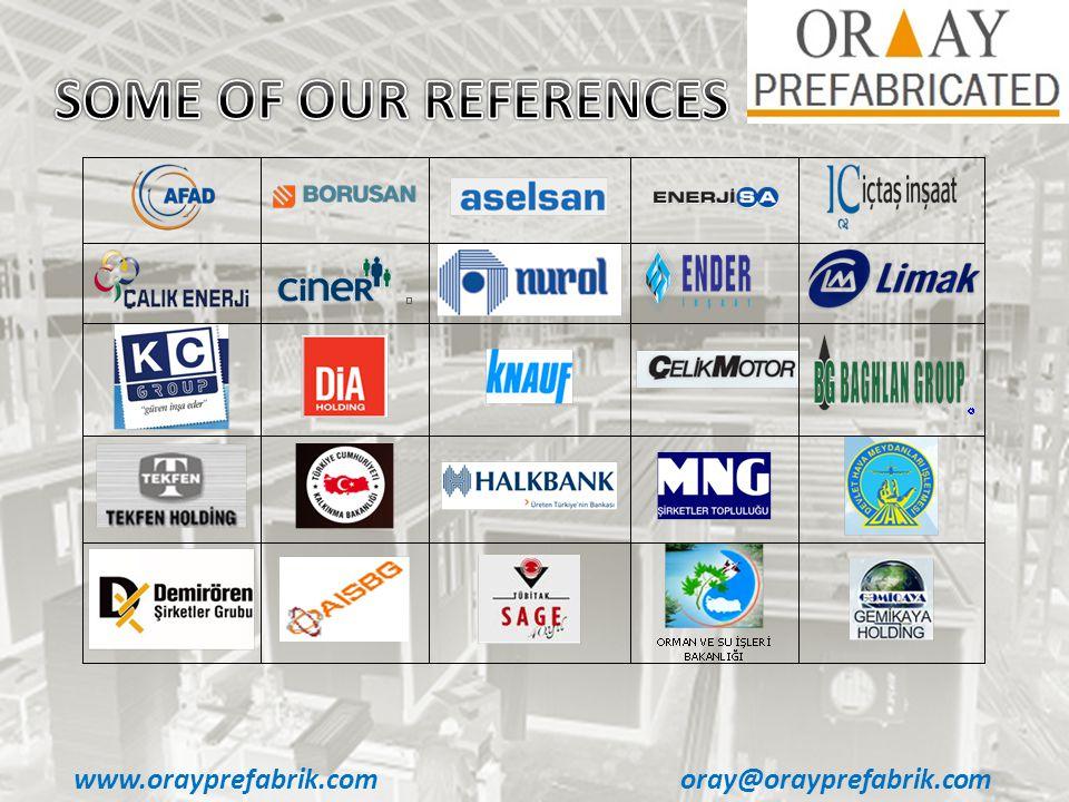 www.orayprefabrik.comoray@orayprefabrik.com