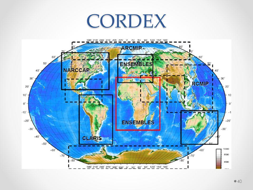 CORDEX 40
