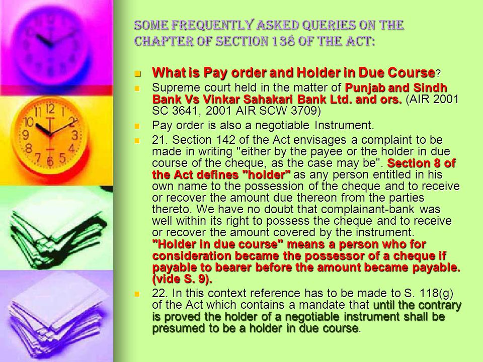 Meaning of Compoundable in 138 N. I. Act: The case may be closed and the accused may be discharged, by the magistrate but only on his sole discretion,