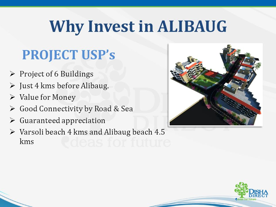 Why Invest in ALIBAUG Project of 6 Buildings Just 4 kms before Alibaug.