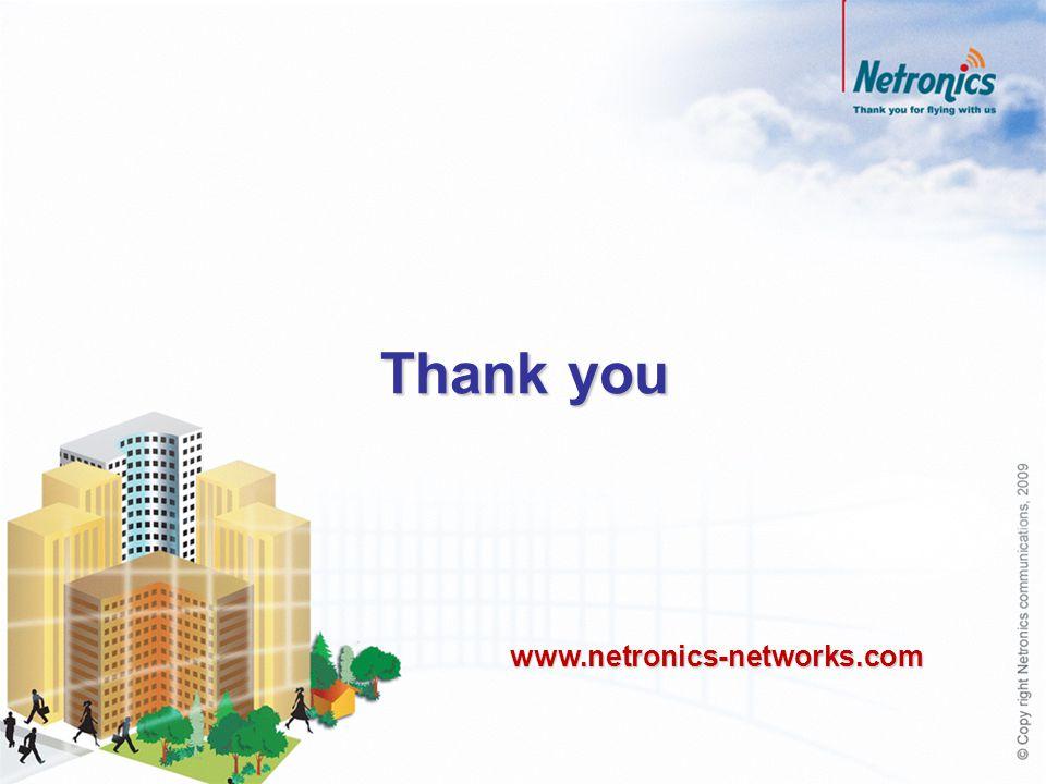 Thank you www.netronics-networks.com