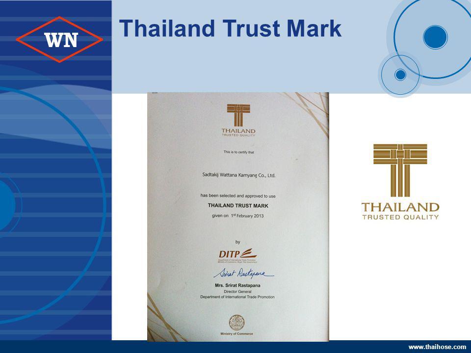 www.thaihose.com WN Thailand Trust Mark