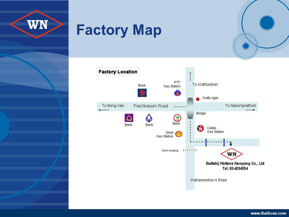 www.thaihose.com WN Factory Map