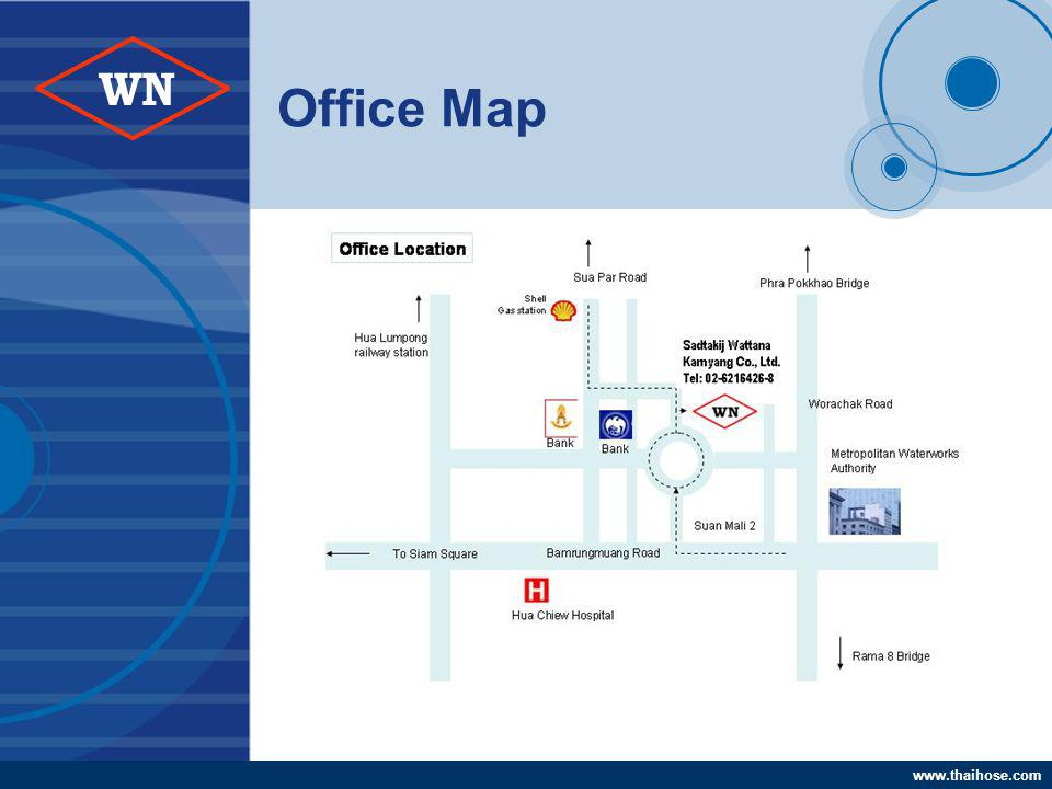 www.thaihose.com WN Office Map
