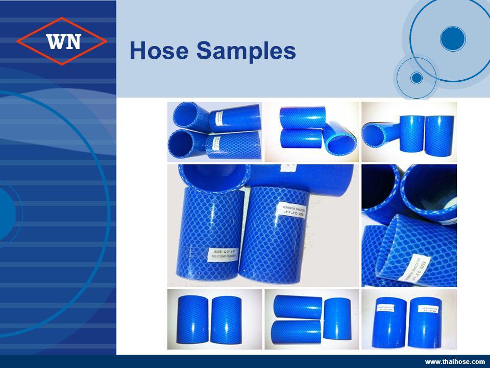 www.thaihose.com WN Hose Samples