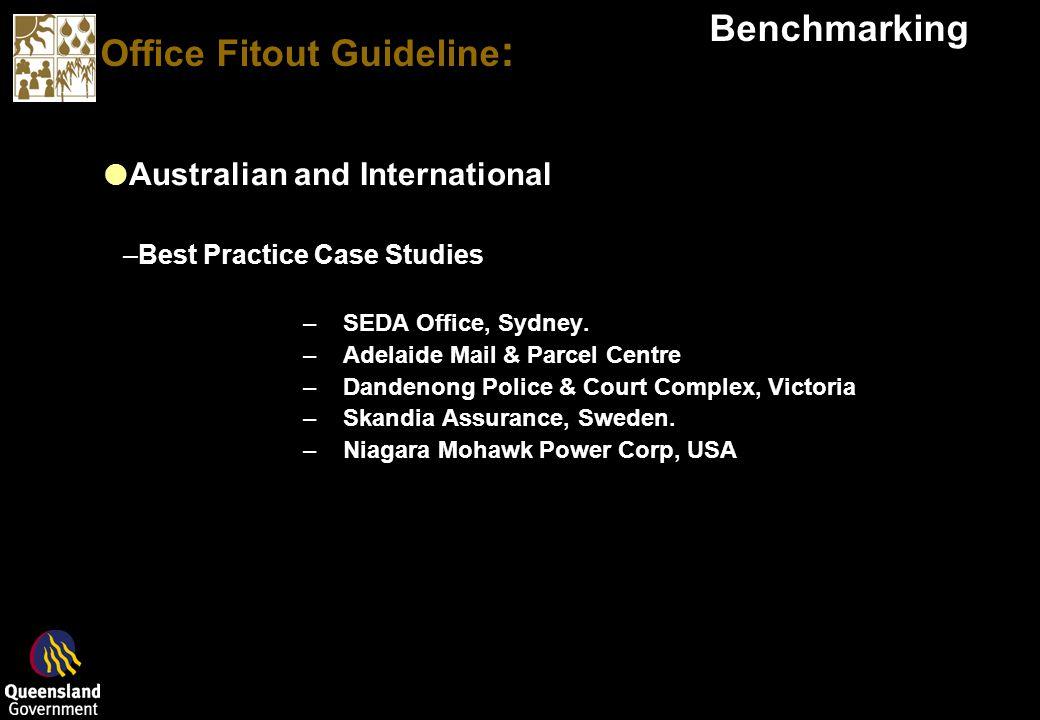 Office Fitout Guideline : Benchmarking Australian and International –Best Practice Case Studies –SEDA Office, Sydney.
