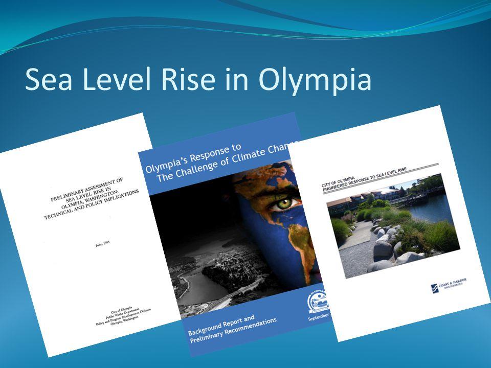 Sea Level Rise in Olympia