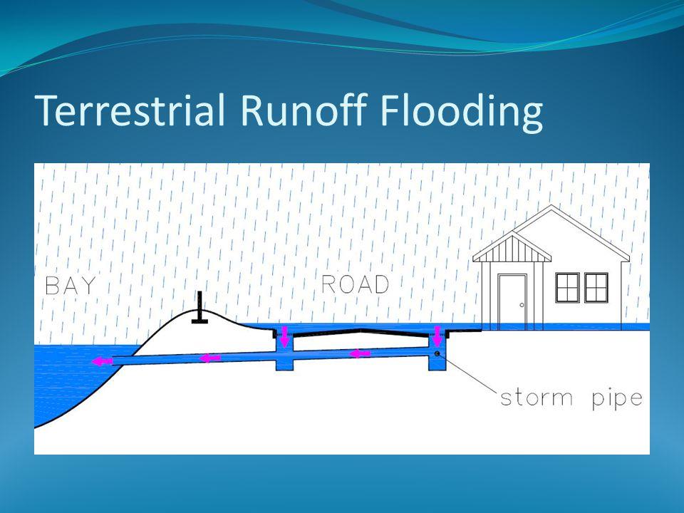 Terrestrial Runoff Flooding