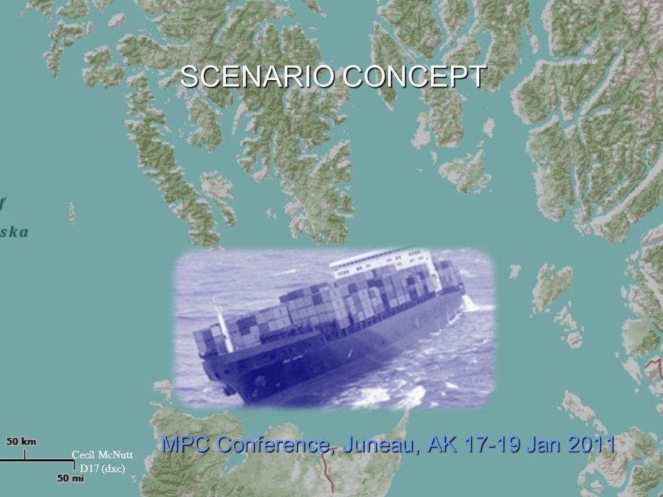 SCENARIO CONCEPT MPC Conference, Juneau, AK 17-19 Jan 2011 Cecil McNutt D17 (dxc)