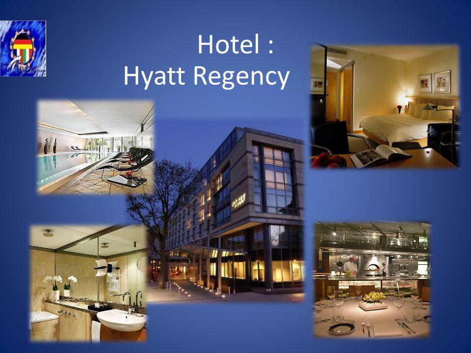 Hotel : Hyatt Regency