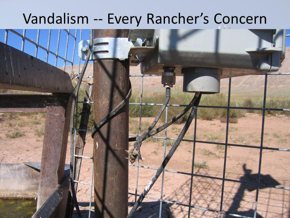Vandalism -- Every Ranchers Concern