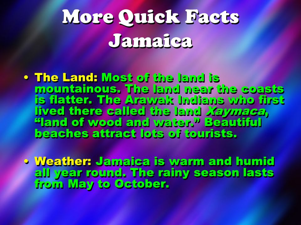 More Quick Facts Jamaica Assemblies of God Facts: 8 missionaries work in Jamaica.