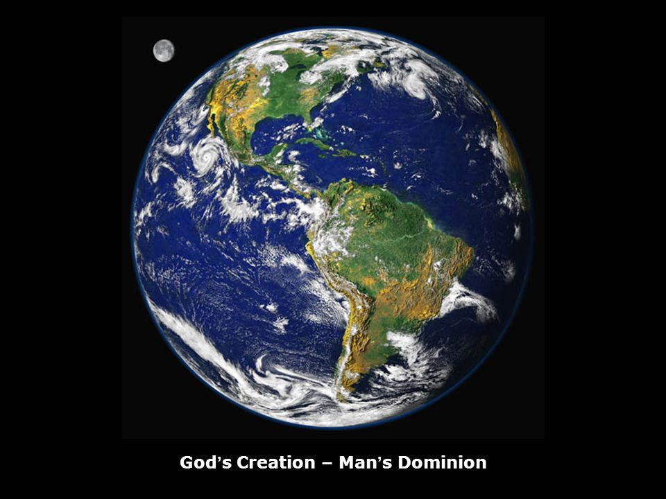 Gods Creation – Mans Dominion