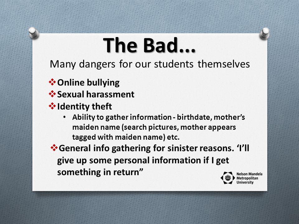 The Bad...