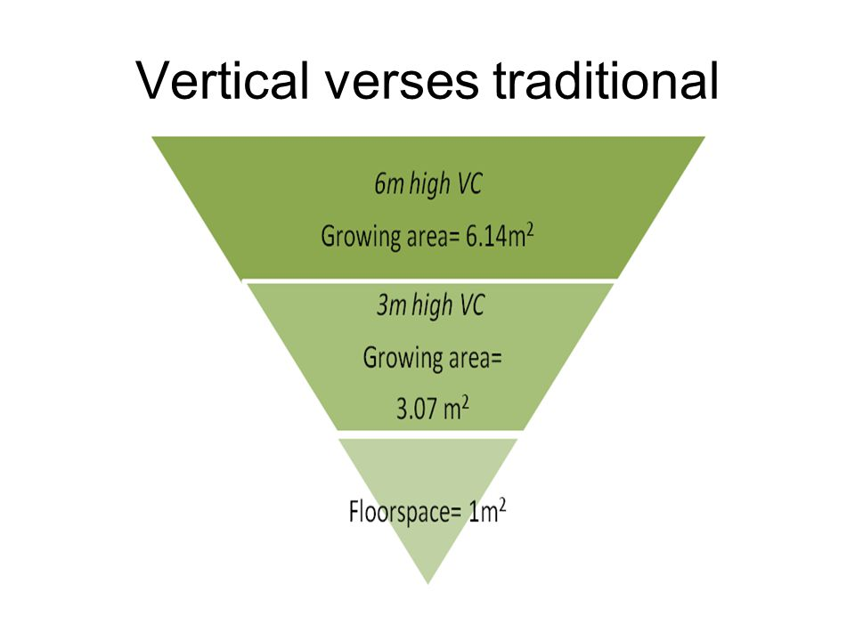 Vertical verses traditional