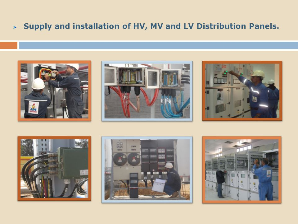 Installation and Termination for all kinds of Instruments : Switches, Transmitters & Gauges :