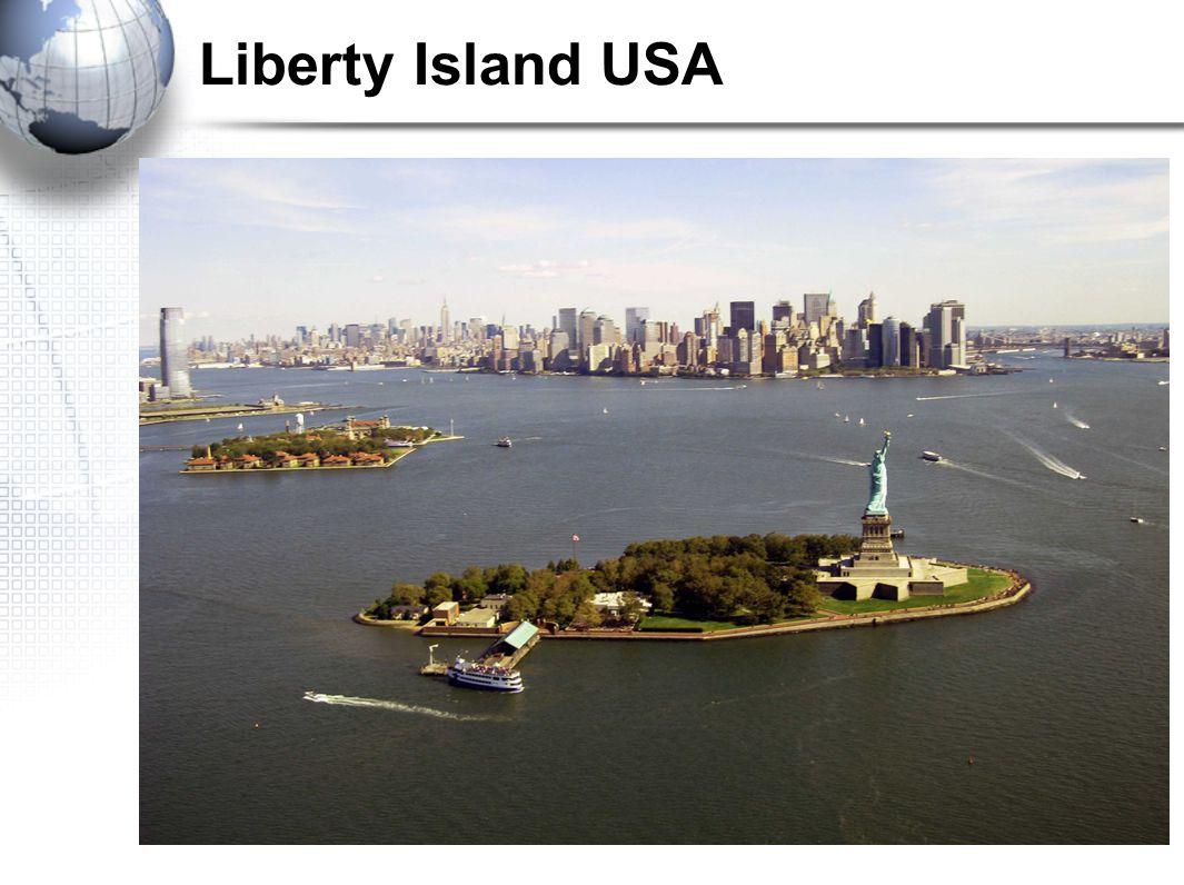 Liberty Island USA
