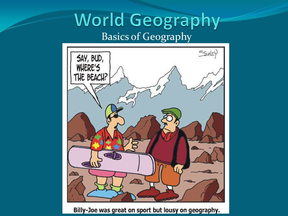 Basics of Geography