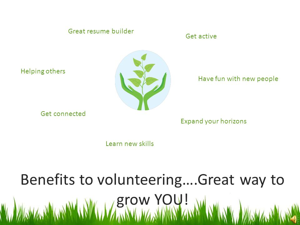 How SCIL benefits from Volunteers VOLUNTEERS help to: Assist in fulfilling goals and the mission Provide a meaningful link to the community we serve O