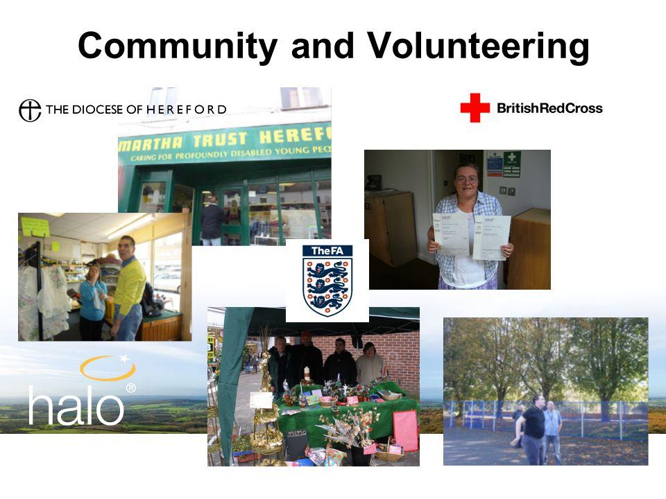 Community and Volunteering