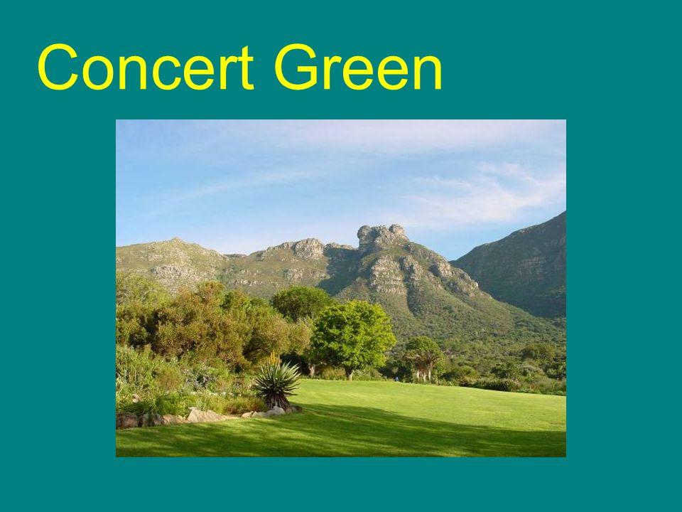 Concert Green