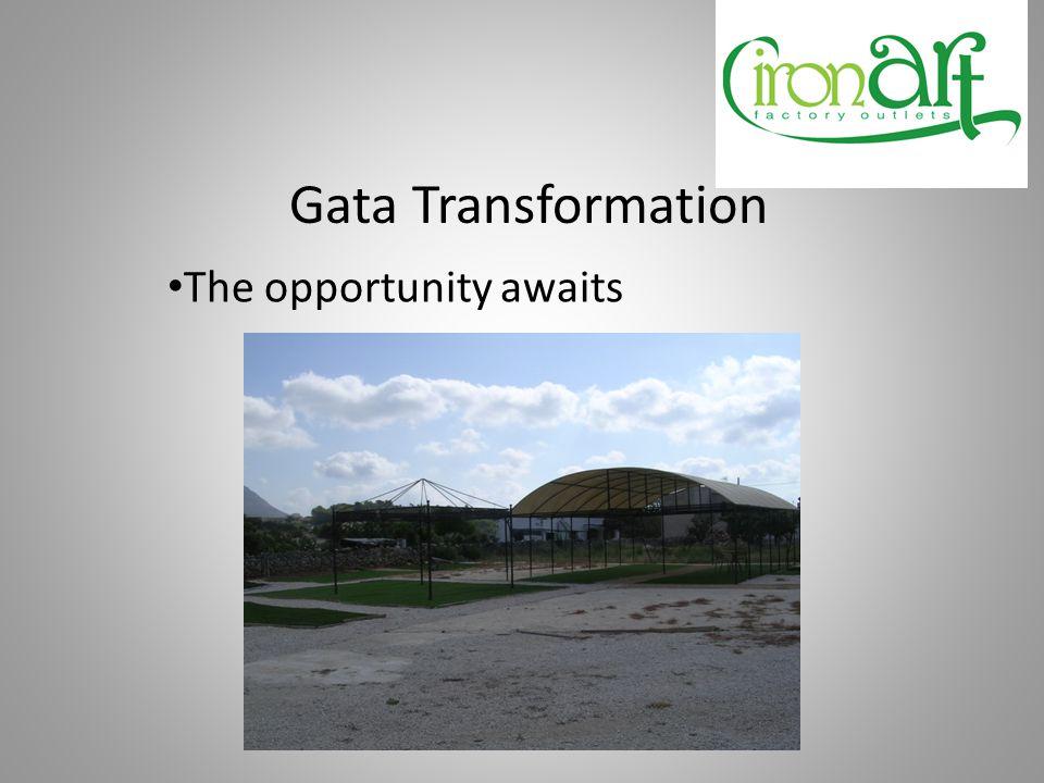 Gata Transformation Inside the Gift Shop