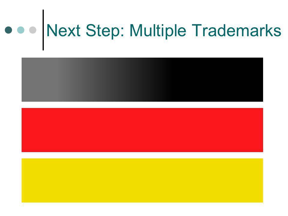 Next Step: Multiple Trademarks