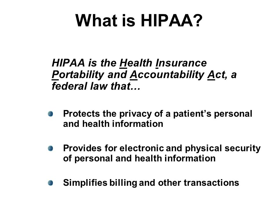 HIPAA asks… Did you need to read the lab results to do your job.