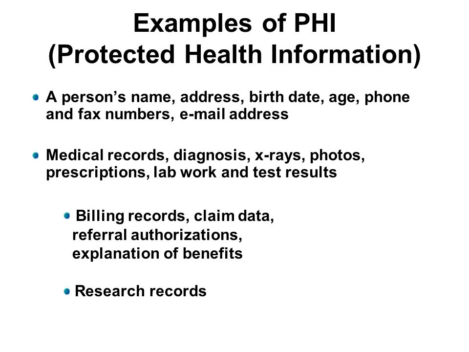What Does HIPAA Say to the Admitting Clerk.