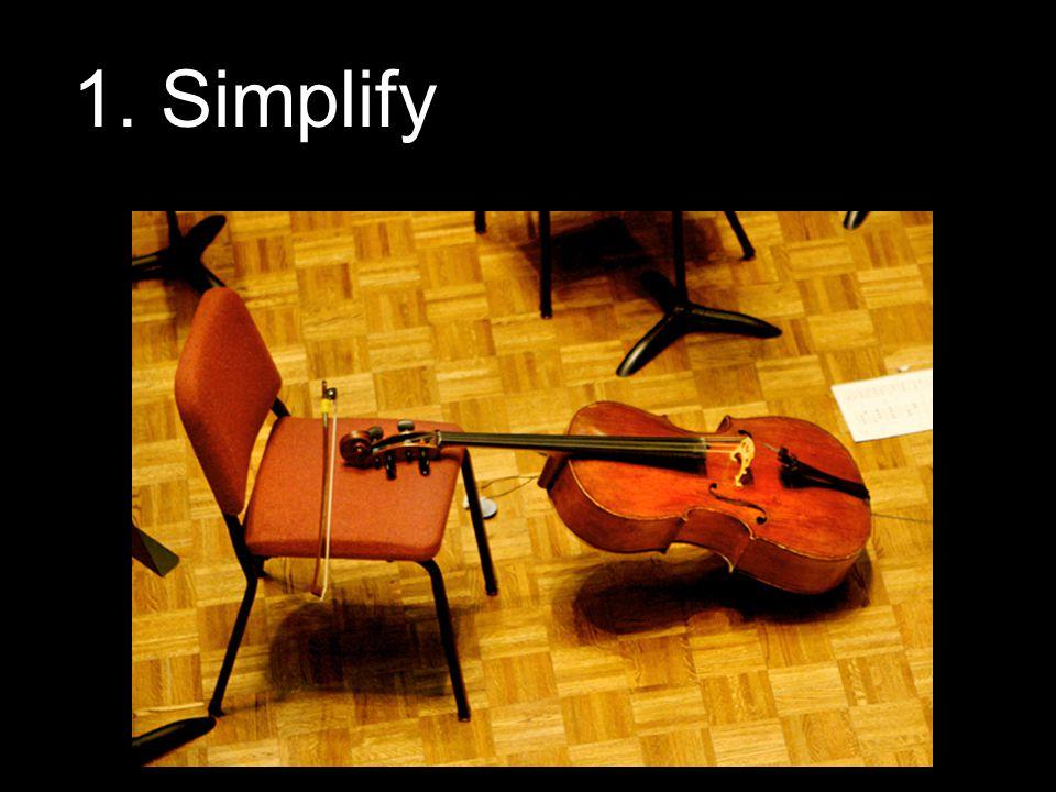 1. Simplify