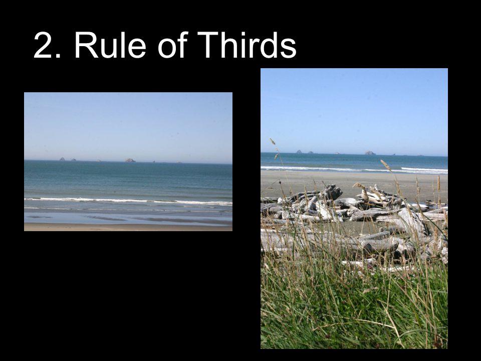 2. Rule of Thirds
